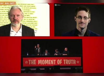 News video: Snowden Accuses New Zealand of Illegal Surveillance